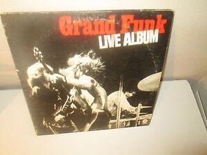 GRAND-FUNK-LIVE-ALBUM-rare-LP-VINYL-Double-Album-Capitol-Records-1970-VG-G