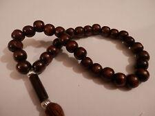 Prayer Beads 33 Misbaha Tasbih Tasbeeh Rosary  Muslim Worry  Beads Subha   WD