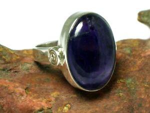 Amethyst-Sterlingsilber-925-Ring-Groesse-8-UK-Groesse-Q