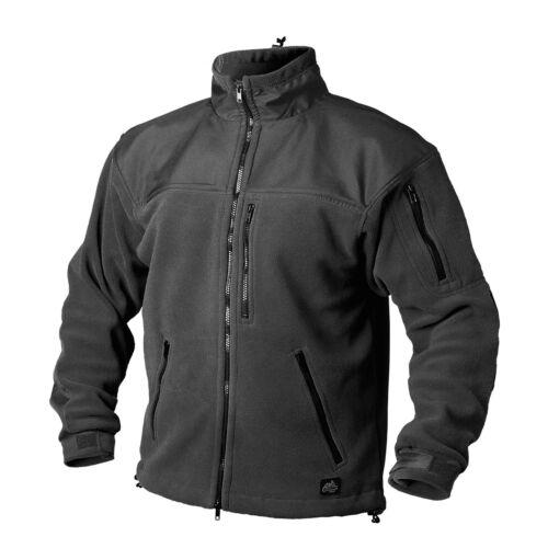HELIKON-TEX Classic Army Outdoor Loisirs Polaire Veste Black Noir