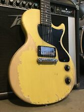 Heavy Relic Epiphone Les Paul Junior Jr. Electric Guitar Aged Used Worn