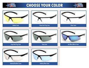 Pyramex-Ever-Lite-Safety-Glasses-Sunglasses-Choose-Lens-Color-ANSI-Z87