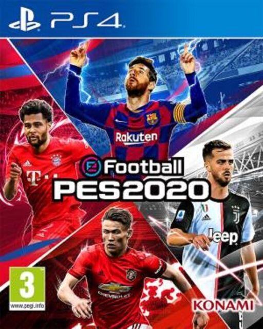 eFootball PES 2020 (Sony PlayStation 4, 2019)