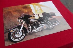 Details about NOS Vintage Harley-Davidson 1980 FLH Electra Glide Poster 24