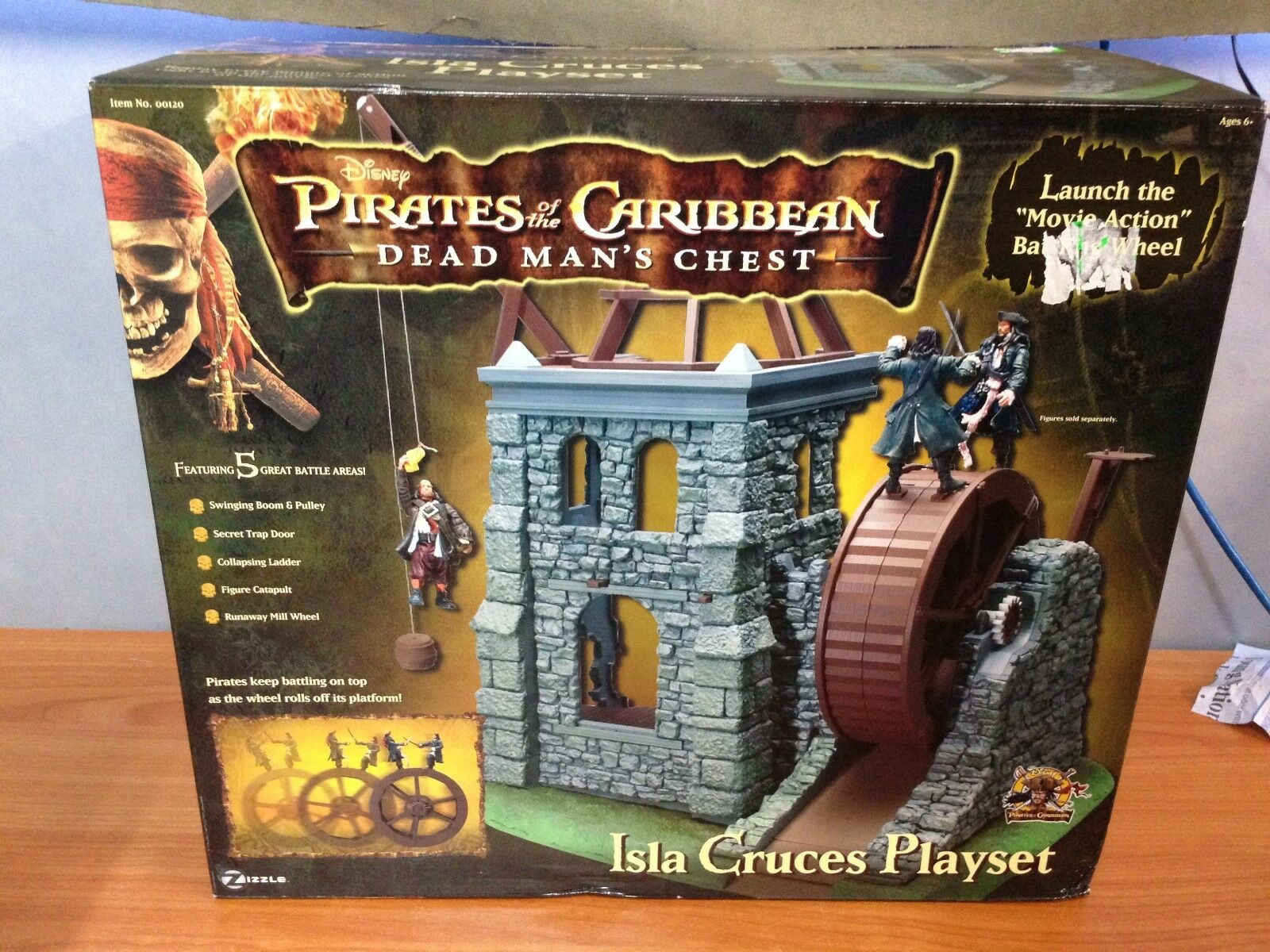 Pirates of the Caribbean Dead Man's Chest - Isla Cruces Playset - BNIB
