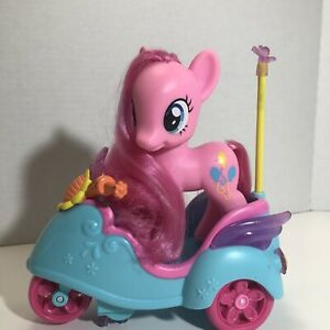 My Little Pony Pinkie Pie MLP RC Scooter SCOOTALOO Scooter w/working remote NICE