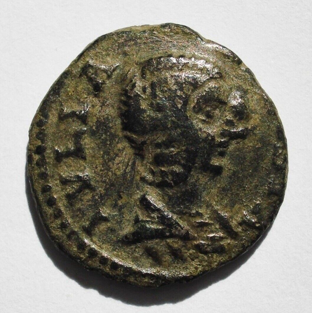 Immagine 01 -  LIMES LIMES DENARIUS. IULIA DOMNA. AE 3,02  gr.  ROMAN COIN. ROME.