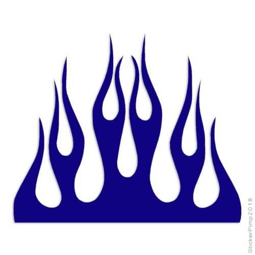 Size #1331 Fire Splash Flames Decal Sticker Choose Color