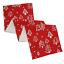 30X275CM Red Christmas Tree Xmas Dinner Table Runner Decoration