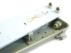 Plafoniera Doppio Neon 150 Cm : Plafoniera stagna doppio tubo led t cm impermeabile ip
