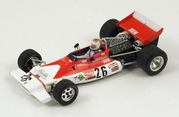 Spark p153 BRM No.  26 Belgium GP 1972 Vern Schuppan s1155 1 43  économisez jusqu'à 30-50%