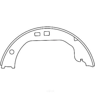 Centric Parts 111.05591 Brake Shoe