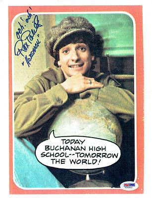 Ron Palillo Signed Horshack Authentic Autographed 8.5x11 Photo Psa/dna #v26902 Autographs-original Photographs