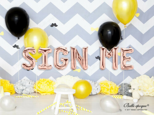 Rose Gold Balloons Wedding Day He asked Photo Booth Vintage She said yes Engaged