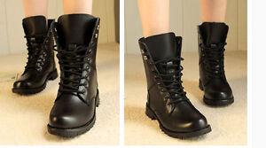 bottes hiver confortable rangers femme talon 3.5 cm noir code 8724 sUiPpfWBN0