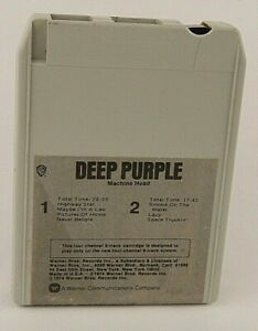 Deep-Purple-Machine-Head-Quadraphonic-8-Track-Iconic-Birth-of-Heavy-Metal