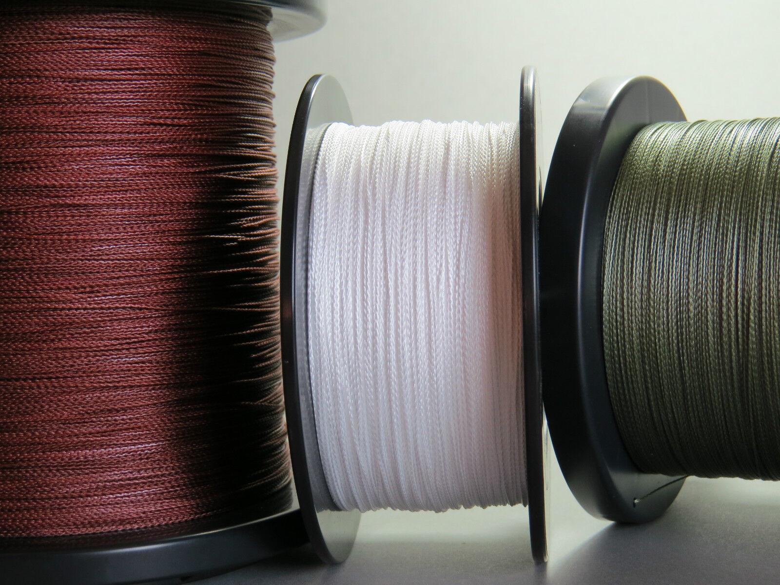 Dynasty 8-Braid geflochtene Waller Schnur super round 3 Typen 3 Farben 1m