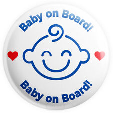 Baby on Board LONDON Tube Underground BADGE 45mm 1.7 INCH Baby Button Badge