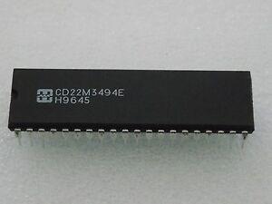 1PCS CD22M3494MQZ96 IC CROSSPOINT SWITCH 16X8 44PLCC 22M3494 CD22M3494