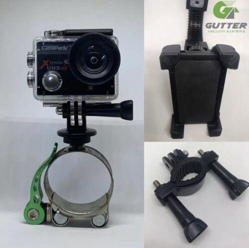 Wireless Camera /& Brackets  Gutter Cleaning  WiFi  Gutter Vacuum System