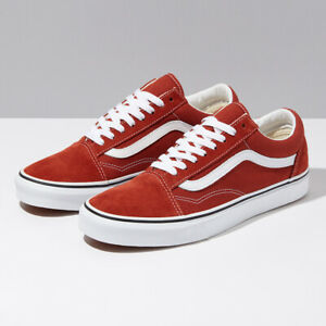 Details zu Vans Picante Suede Old Skool Skate Shoes Sneakers Red VN0A4U3BWK8 Size US 4 13