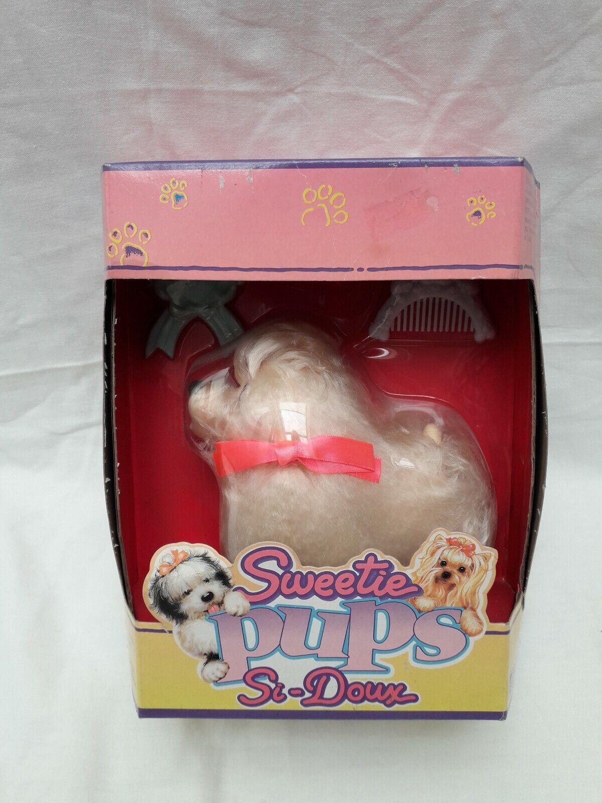 Sweetie Pups Si-Doux Hasbro Vintage 1989 neuf Boite no bébé baby  3