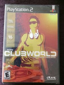 Details about Ejay Clubworld PS2 Factory Sealed Crave Entertainment  PlayStation 2 Game