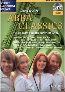 Altsaxophon-Saxophon-in-Es-Klavier-Noten-ABBA-Classics-mit-CD-playalong