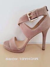 MICHAEL Michael Kors Women's 'Josephine' Open Toe Suede Sandals Size 7 NIB