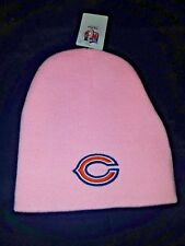 item 2 New Chicago Bears NFL Pink Breast Cancer Beanie Knit Cap Hat Winter  Adult -New Chicago Bears NFL Pink Breast Cancer Beanie Knit Cap Hat Winter  Adult e0093d197