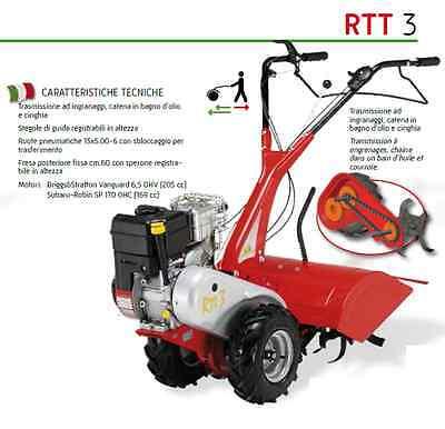 MOTOCOLTIVATORE EUROSYSTEMS RTT3 DIESEL ( MOD 2014)