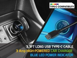 Rapid-Car-Charger-Type-C-Connector-for-Samsung-Note-8-Galaxy-S8-S8-Cell-Phone