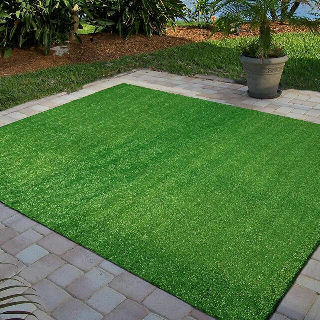 Yescom Indoor Outdoor 5x3 3 Artificial Grass Turf Green For Sale Online Ebay