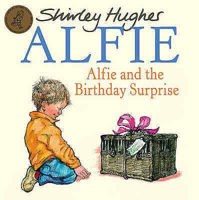 1 of 1 - Alfie & The Birthday Surprise by Shirley Hughes New Paperback Book RRP £6.99