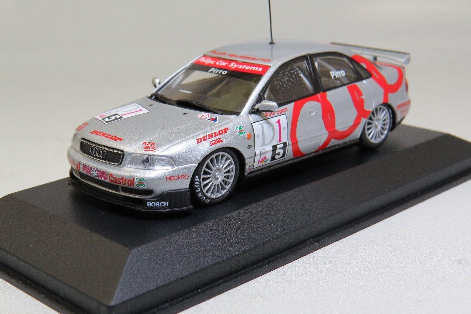 MINICHAMPS 430961505 1 43 Audi A4 STW Cup 1996 E. Pirro NEW