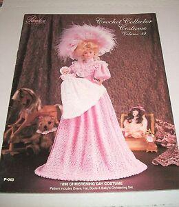 1896 Christening Day Costume for Barbie Paradise Vol 32 Crochet PATTERN