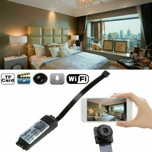 Wireless 1080P HD Hidden Spy Camera Micro DVR WIFI Security Mini Cam Recording