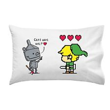 Heart Seeker Classic Color Movie & Video Game Parody Single Pillow Case Soft New