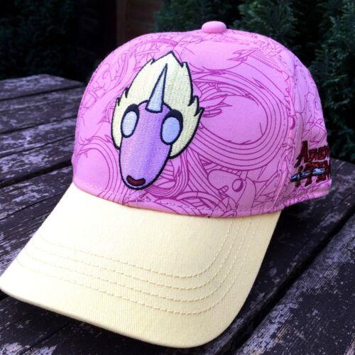 Official Adventure Time Kids Cap Hat Adjustable 5-12 Yrs Pink R731-2