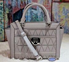 941eabf0711dd9 item 3 NWT MICHAEL KORS TINA SMALL TZ Satchel Messenger Bag In PEARL GREY  Leather $348 -NWT MICHAEL KORS TINA SMALL TZ Satchel Messenger Bag In PEARL  GREY ...
