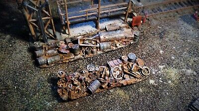 Consegna Veloce High Detailed Resin Casting Wagon Load/pile Up By R&m Suit Oo Gauge Unpainted Conveniente Da Cucinare