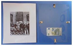 Arconovaldo-Bonaccorsi-quotidiano-L-039-Impero-duce-fascismo-quadro-cornice-vetro