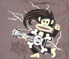 Paul Frank Kids Camiseta mostrando una guitarra eléctrica jugando Estrella De Rock