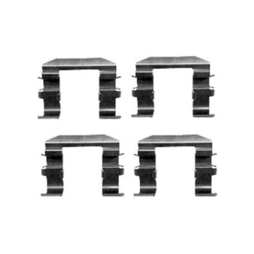 Genuino DELPHI Anteriore//Posteriore Pastiglie Dei Freni Kit di accessori-LX0417