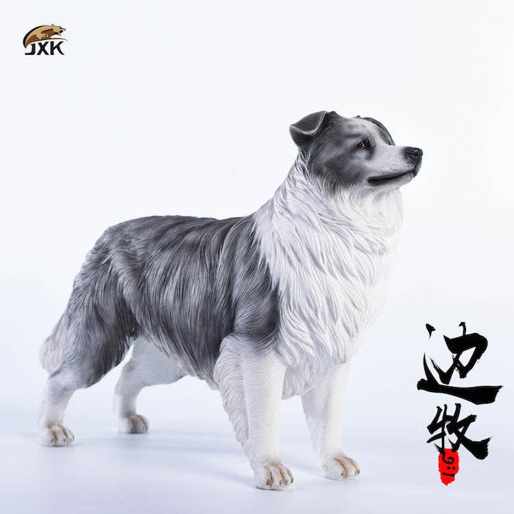Jxk. studio modell hund 1   6 - skala border collie jxk006a summe sammlung
