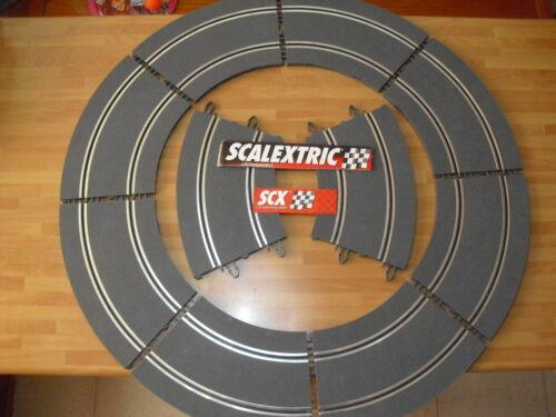 10 Kurven Standard R2 SCX Neu Analog digitalisable Kinderrennbahnen NEWS 1/32