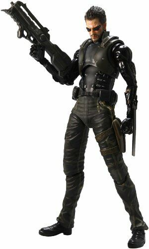 Deus EX: Human Revolution Play Arts Kai Adam Jensen Figure NEW from Japan