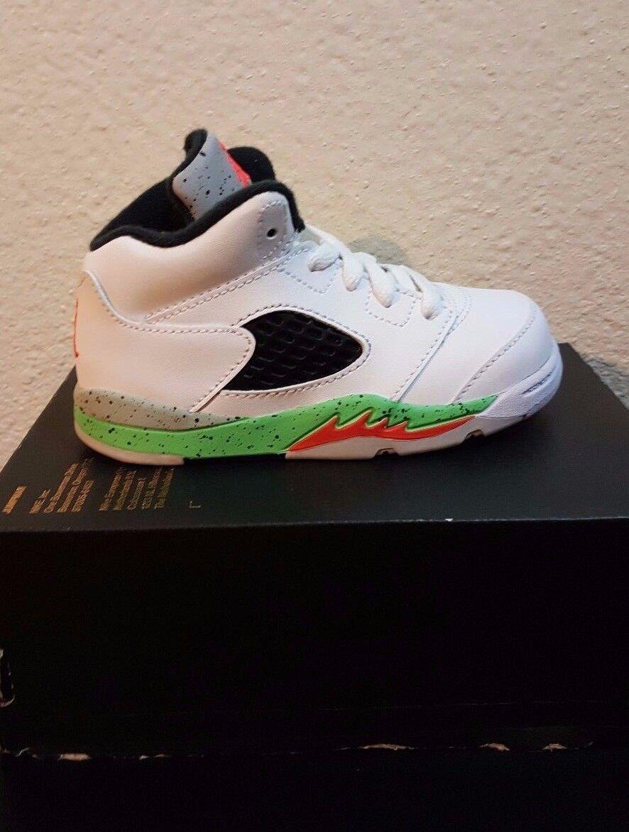 c6c7cef21a198e Air Jordan 5 V Retro BT Space Jam Poison Green 440890-115 Nike ...