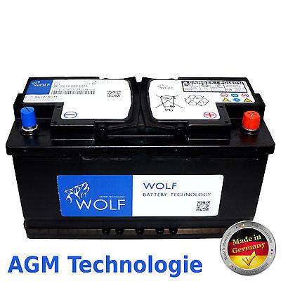 AGM Batterie 100AH 12V Autobatterie Solarbatterie Starterbatterie T4 T5 BMW AUDI