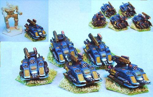 Mechwarrior Bellona Hogreenanks suitablefor Battletech-5